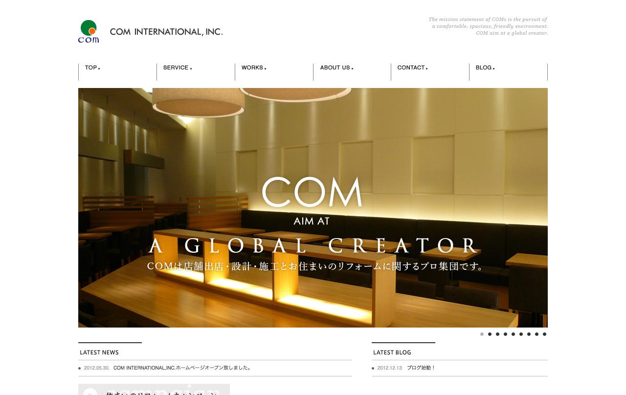 Com International,Inc.